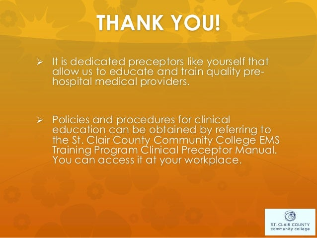 Sc4 preceptor training ppt