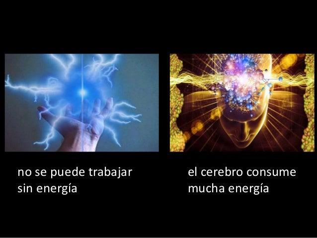 Resultado de imagen de El cerebro consume mucha energía