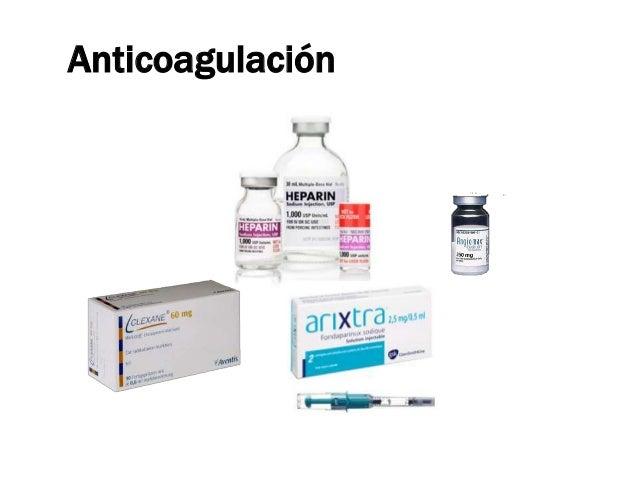 Vs.       •     Enoxaparina fue no inferior a HNF en pacientes con SCA con ST 1 y SCA             sin ST.2       •     Ten...