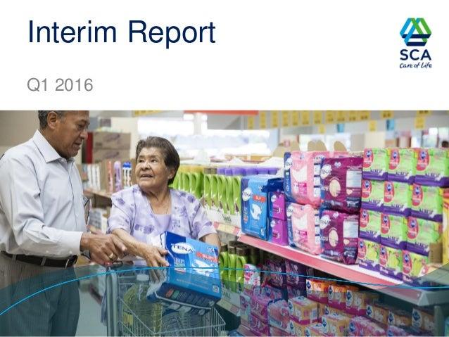 Interim Report Q1 2016