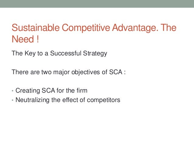 Sustaining competitive advantage cargill as a