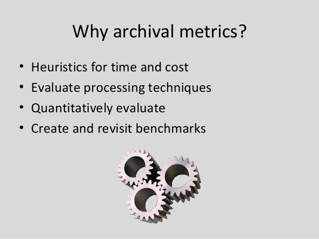State of the Art: Methods and Tools for Archival ...