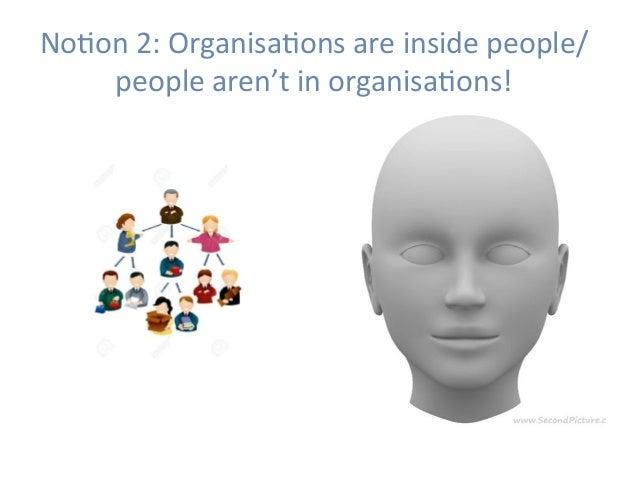 NoHon2:OrganisaHonsareinsidepeople/ peoplearen'tinorganisaHons!