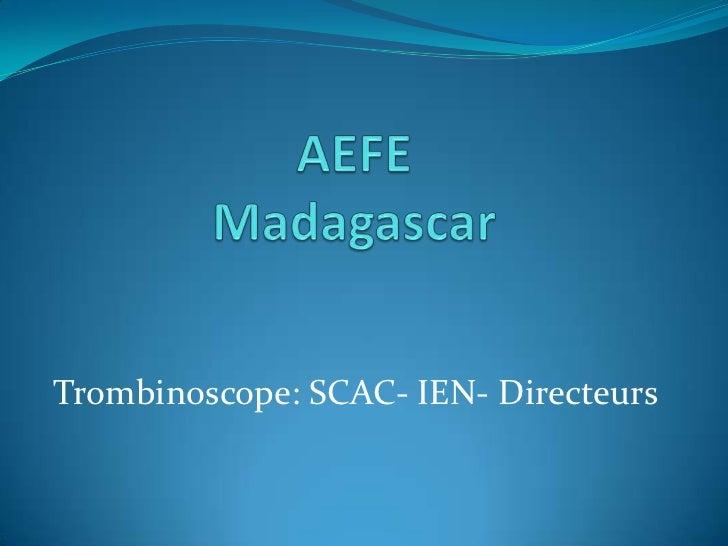 Trombinoscope: SCAC- IEN- Directeurs