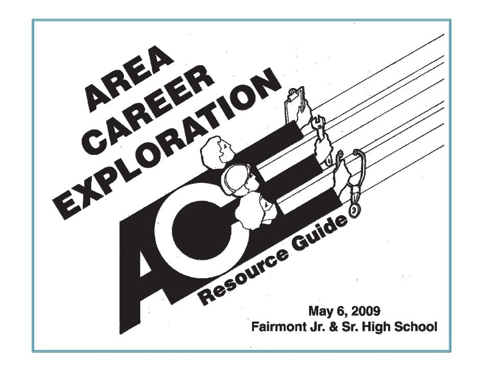 AREA CAREER EXPLORATION SPONSORS     1