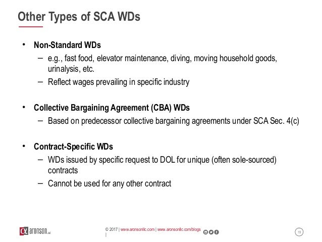 Webinar: Service Contract Act (Sca) Compliance In Real Business Gover…