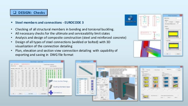 Structural Computer Aided Design and Analysis Professional SCADA Pro …