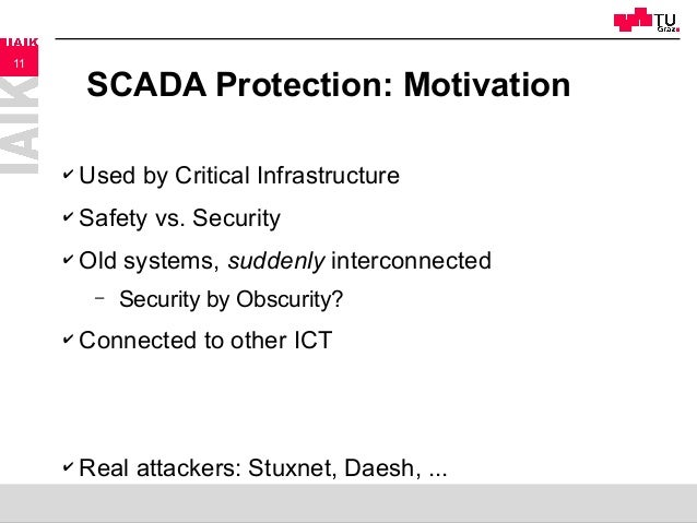 scada security thesis Security analysis of industrial control systems master's thesis security analysis of industrial control systems (scada), have lately gained.