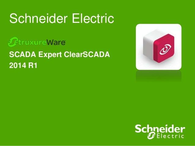 Schneider Electric SCADA Expert ClearSCADA 2014 R1