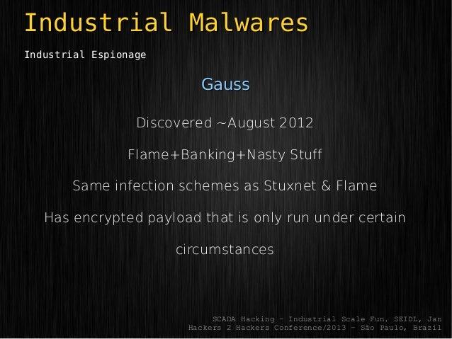 SCADA hacking industrial-scale fun