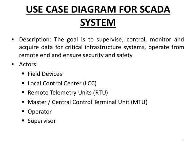 Scada ppt use case diagram ccuart Image collections