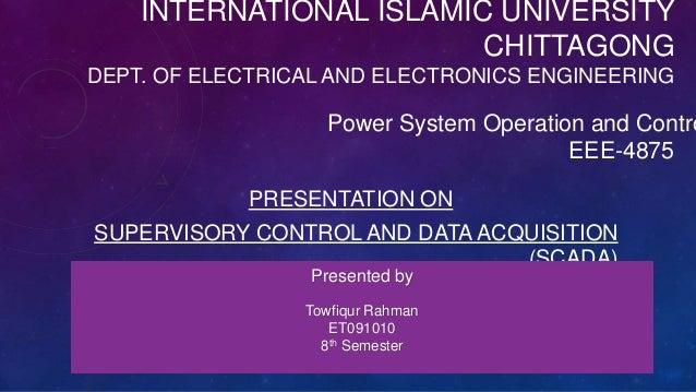 INTERNATIONAL ISLAMIC UNIVERSITY                         CHITTAGONGDEPT. OF ELECTRICAL AND ELECTRONICS ENGINEERING        ...