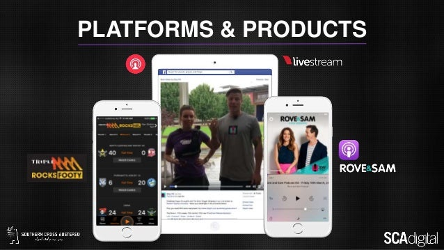 PLATFORMS & PRODUCTS