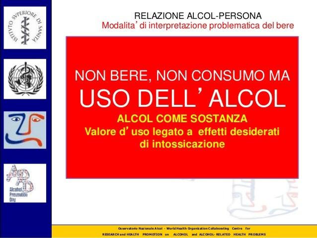 Emanuele Scafato Quot Il Bere In Italia Quot