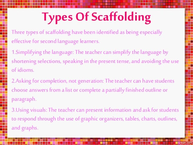 Scaffolding and zone of proximal development