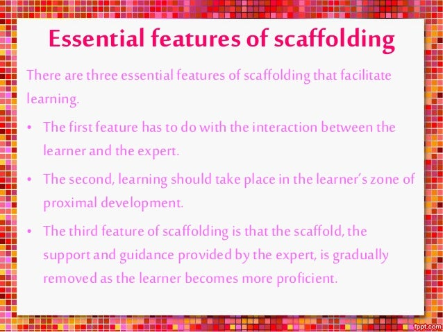 Vygotsky Quotes On Scaffolding: Scaffolding Examples In Preschool