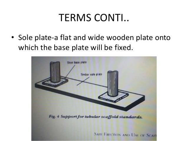 Scaffolding by chakamba j for Motor base plate design