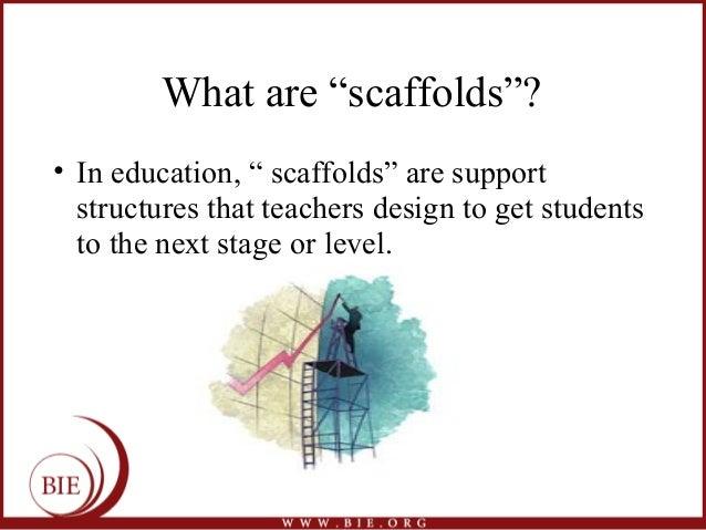 scaffolding essay writing