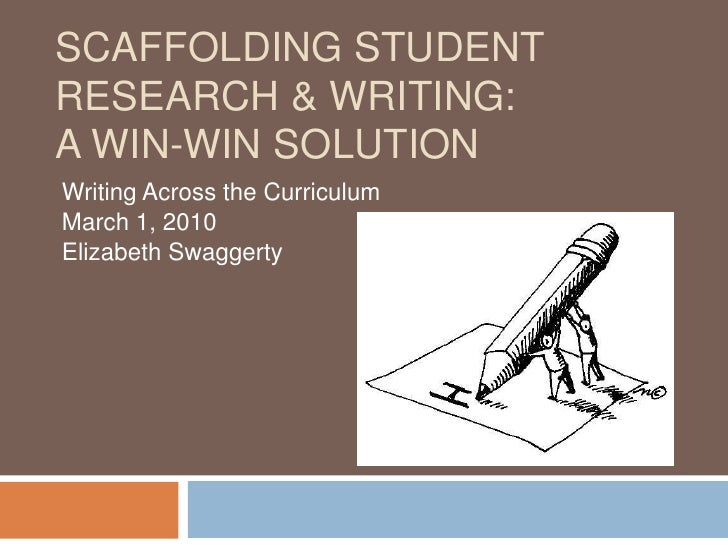 Scaffolding student research & Writing: A win-win Solution<br />Writing Across the Curriculum<br />March 1, 2010<br />Eliz...