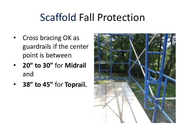 Scaffold Safety Email