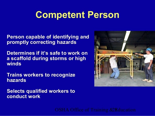 scaffolds ppt construction