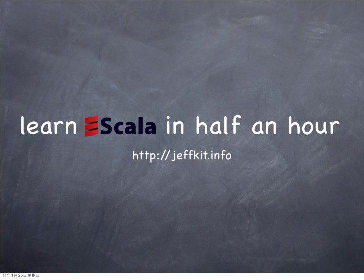 learn         in half an hour        http://jeffkit.info