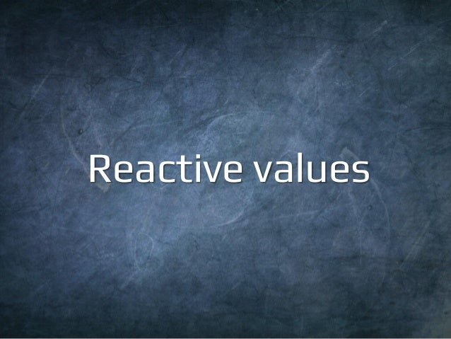 Reactive Collections