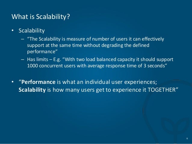 what is scalability Scalability testing is a kind of software testing that tests the capability of a system with varying volume to meet the growing need the official 360logica blog.