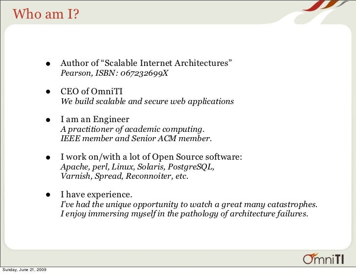 Scalable Internet Architecture Slide 2