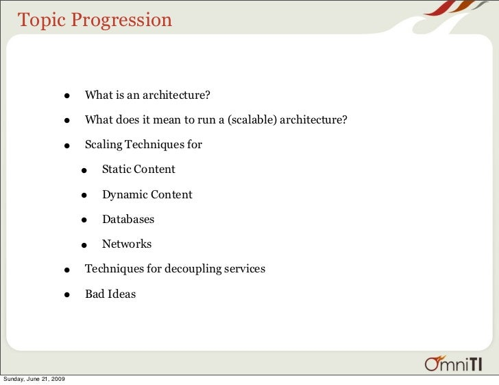 Scalable Internet Architecture Slide 3