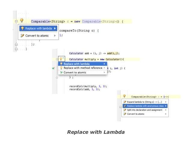 Replace with Lambda