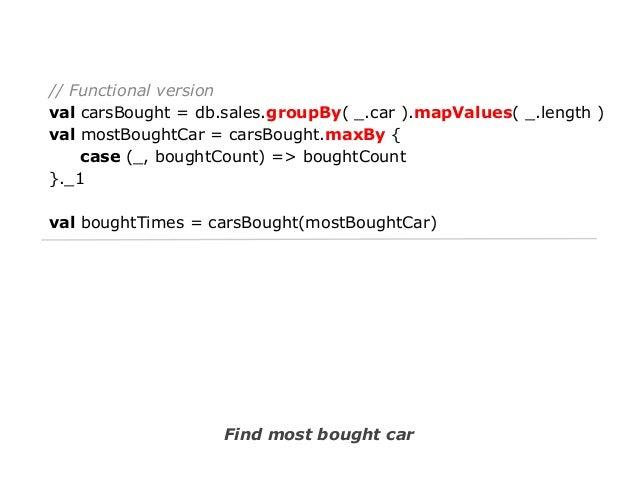 // Iterative version Map<Person,Map<Person,Sale>> map = new HashMap<Person, Map<Person,Sale>>(); for (Sale sale : sales) {...