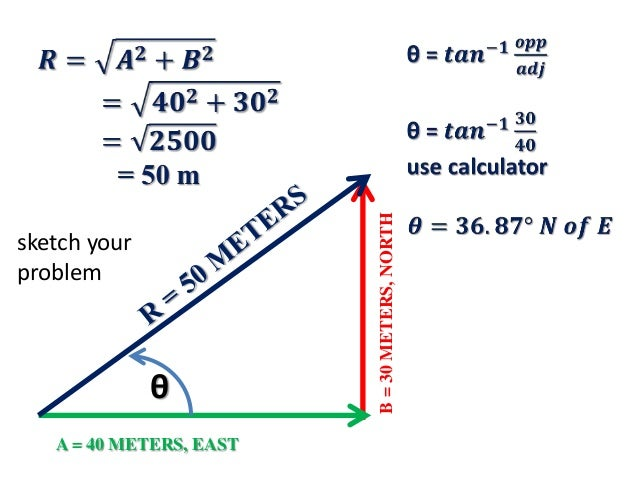 Vectors  Motion and Forces in Two Dimensions  Physics