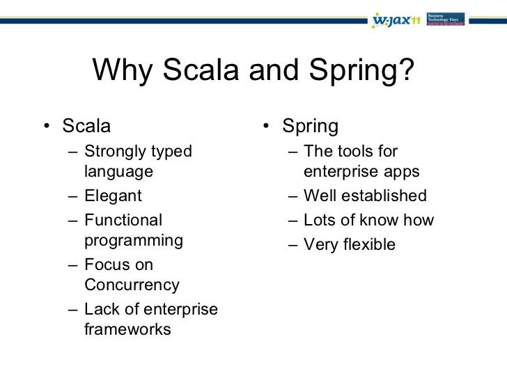 Scala and Spring