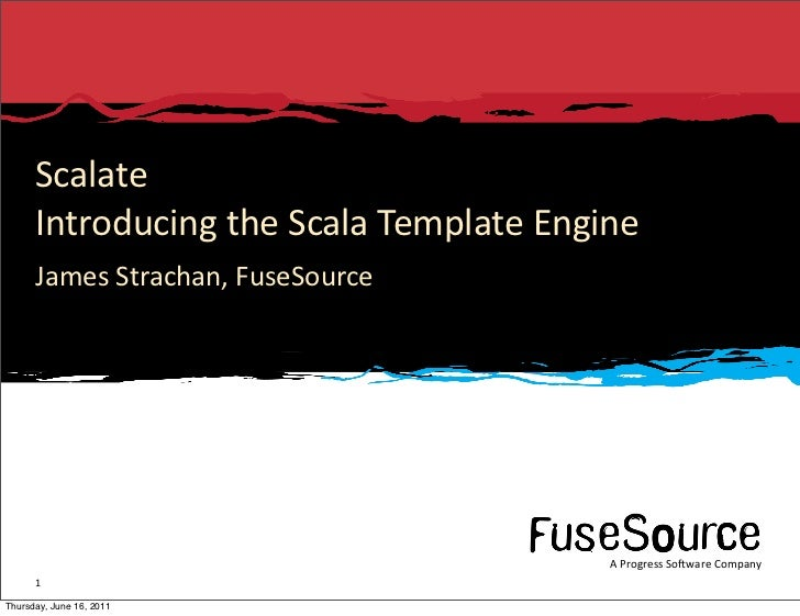 Introducing Scalate, the Scala Template Engine