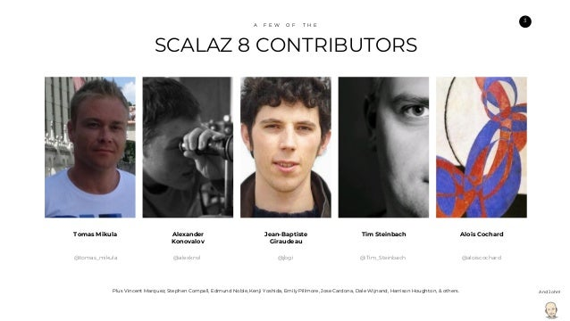 Scalaz 8: A Whole New Game Slide 3
