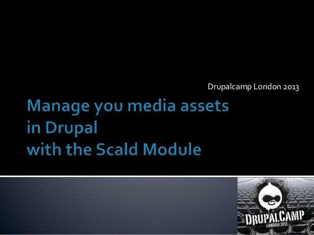 Drupalcamp London 2013
