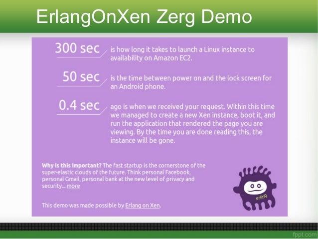 ErlangOnXen Zerg Demo