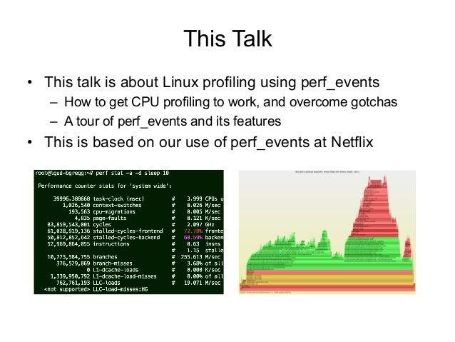 Linux Profiling at Netflix Slide 2