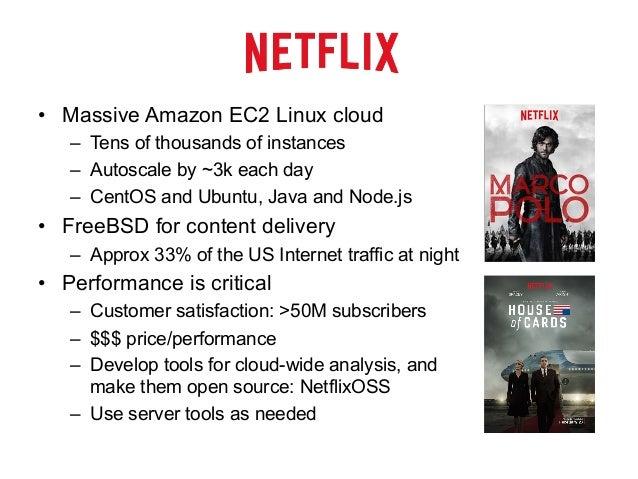 Linux Profiling at Netflix Slide 3