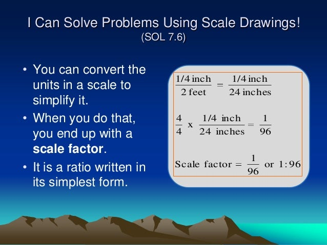 Scale And Scale Factor