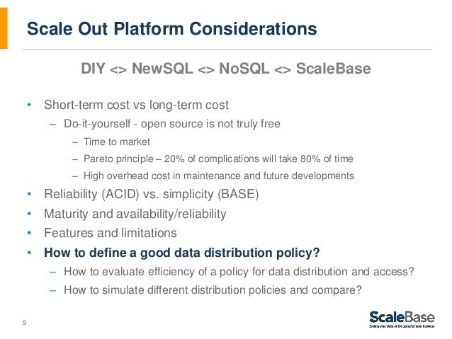 Mysql visual analysis and scale out strategy definition webinar deck 8 example visual analysis tables 9 9 scale out platform considerations diy solutioingenieria Image collections