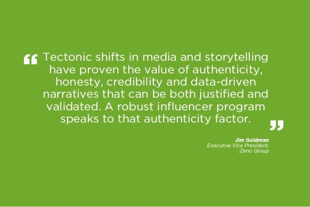 Tectonic shifts in media and storytelling have proven the value of authenticity, honesty, credibility and data-driven narr...