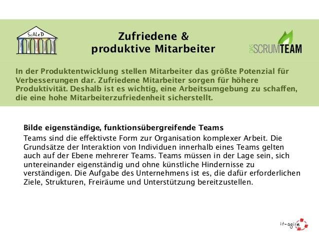 Zufriedene &  produktive Mitarbeiter  In der Produktentwicklung stellen Mitarbeiter das größte Potenzial für  Verbesserung...