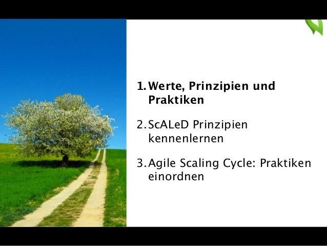 Beyond SAFe:Wirklich Agile und Lean sein mit den ScALeD Prinzipien Slide 3