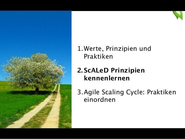 Agilität skalieren bedeutet, den  Kulturwandel zu skalieren  Culture eats  strategy for  breakfast.  Peter Drucker