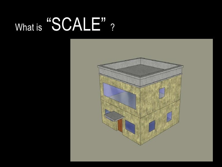 """What is  """"SCALE""""  ?"""
