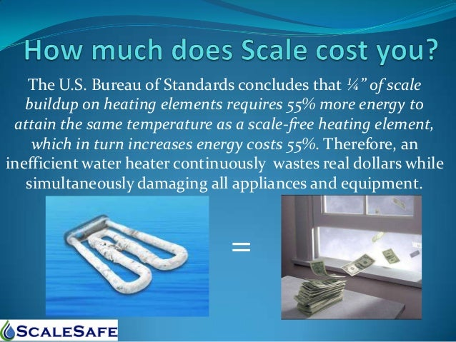 Scalesafe Hard Water Scale Elimination And Prevention