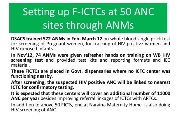 CD4 Testing –Revised StrategyCD4 sample is now drawn at ICTC/PPTCTC for testingdirectly at NCDC (except ICTC/PPTCTCs with ...