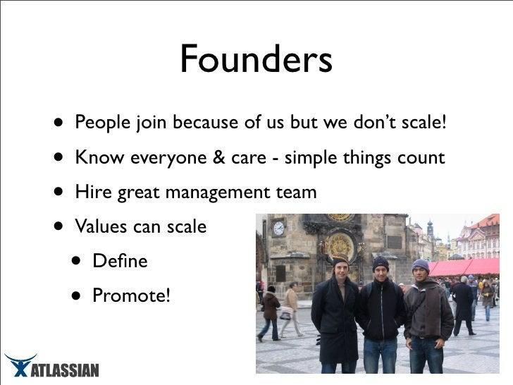 Scaling Atlassian -  March 2008